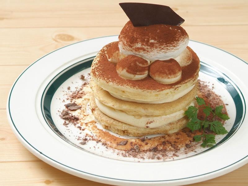 【東京メニュー】リッチティラミスパンケーキ