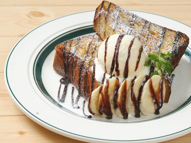 【東京メニュー】チョコバナナのフレンチトースト