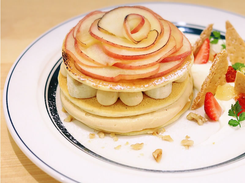 【松本店限定】信州りんごのティラミスパンケーキ