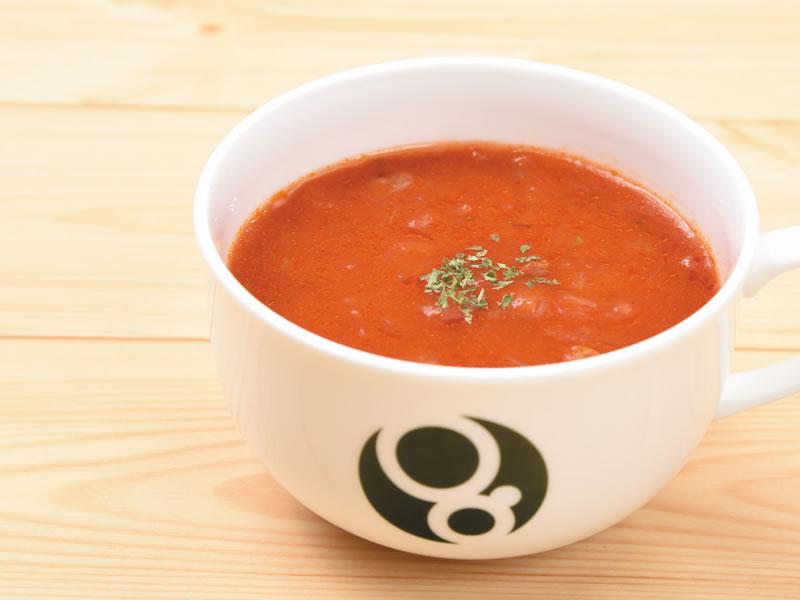 シーフードのトマトスープ